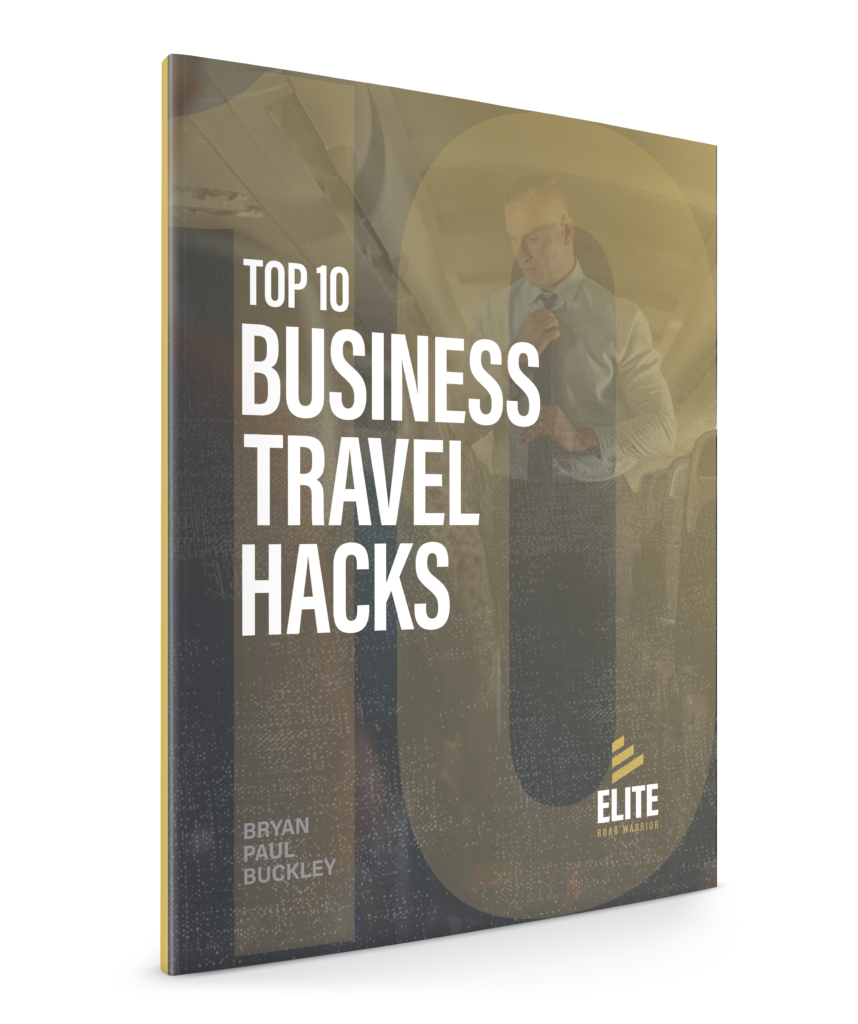 ERW - Top 10 Business Travel Hacks 3D Cover